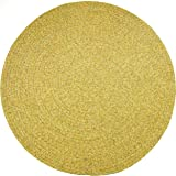 Sabrina Oat Meal Round Indoor/Outdoor Braided
