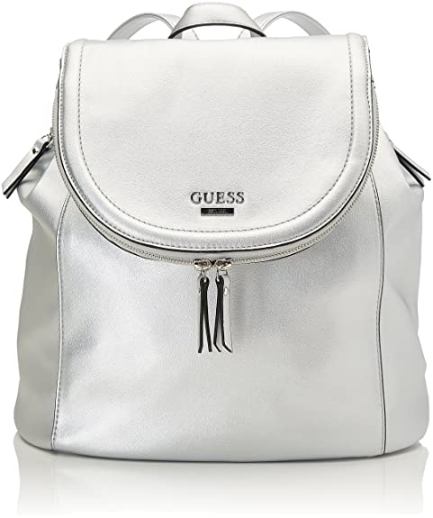 Zainetto L HoboBorsa H Guess DonnaArgento18x34x33 A Cmw X fY67gby