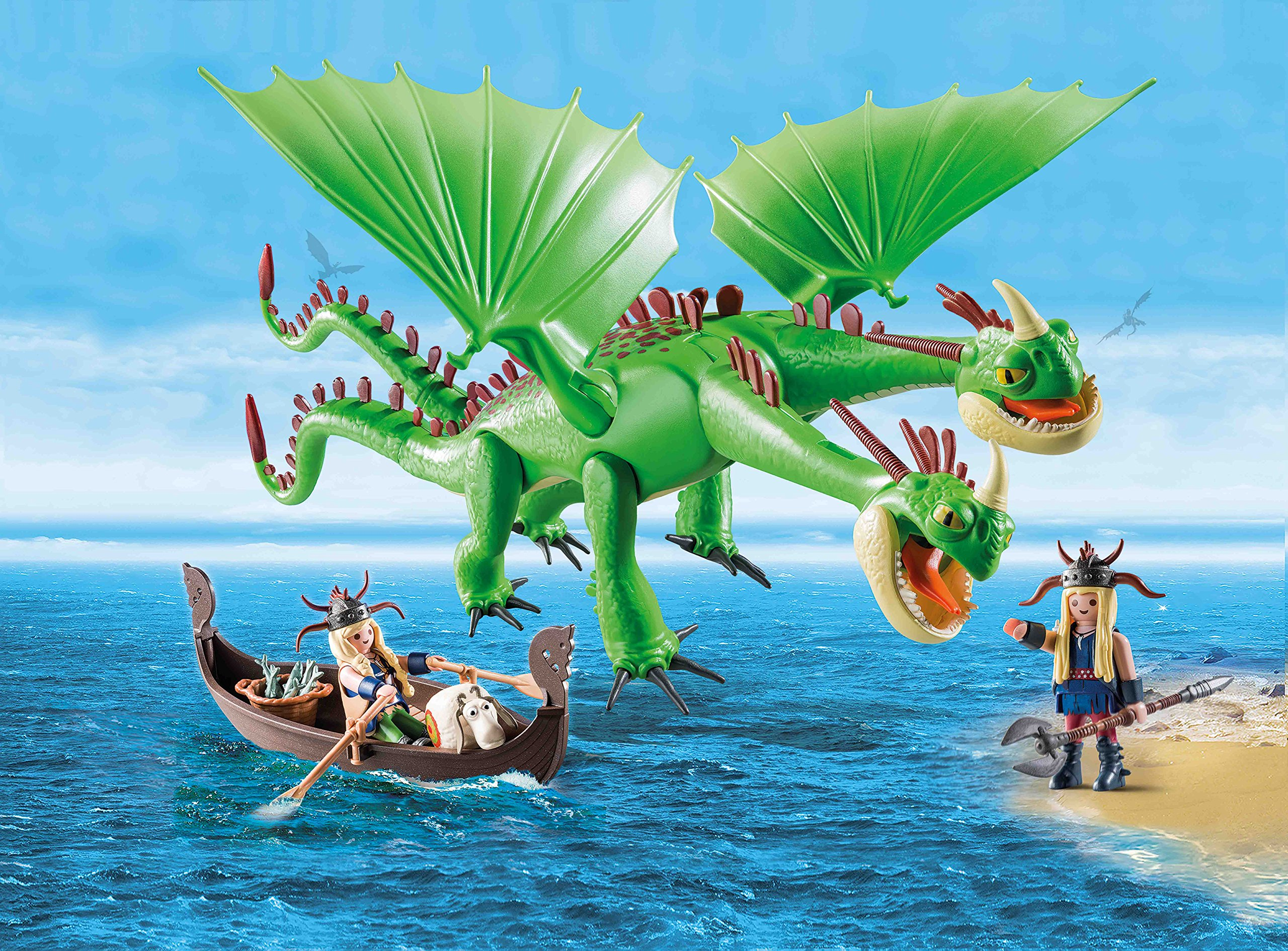 How to Train Your Dragon Twins with Barf and Belch by Playmobil (Image #8)