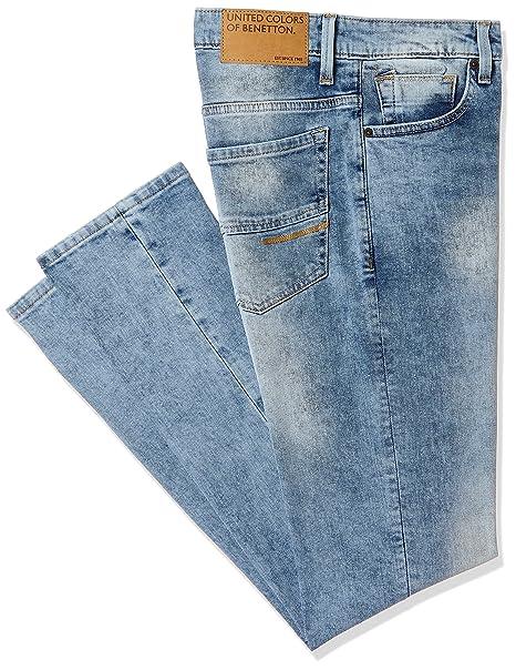 United Colors of Benetton Men's Slim Fit Jeans Men's Jeans at amazon