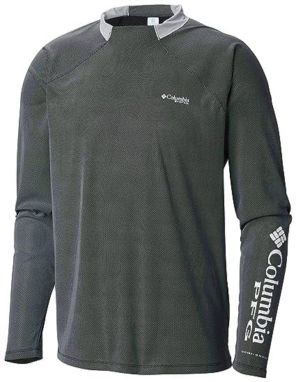 1ea14ab13a1 Columbia Men's PFG Terminal Deflector ZERO Long Sleeve Shirt, Breathable,  UV Sun Protection ,