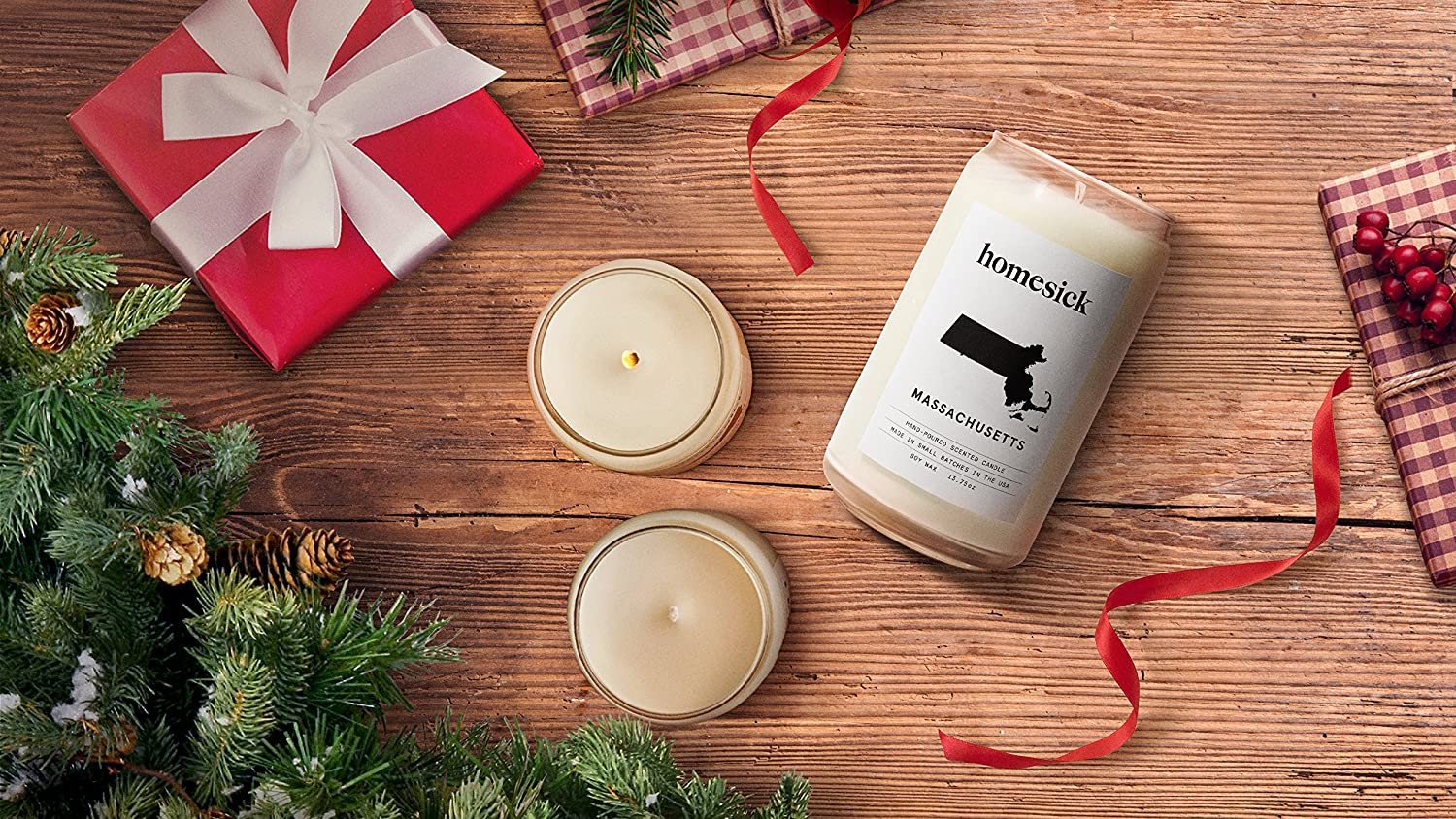 Holiday Homesick Scented Candle