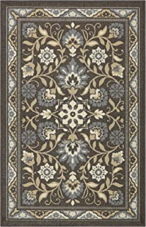 product image for Maples Rugs 2'6 x 3'10 Hallway Entry Kitchen Rugs Non Skid Accent Area Carpet [Made in USA], Light Brown