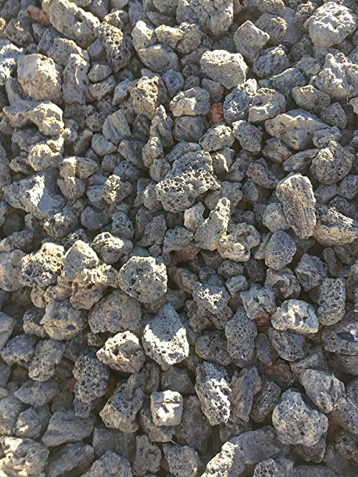 Gravilla Volcanica (Big bag de 1.000 kg.) (12-24 mm., Negra): Amazon.es: Jardín