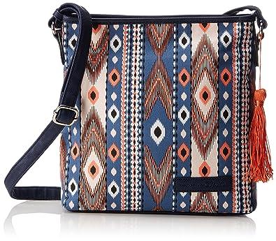 Mila Ahoi Womens Cross-Body Bag Blue (Blau) 8x25x28 cm (B x H x T) Tom Tailor Denim U6dWXKT56q