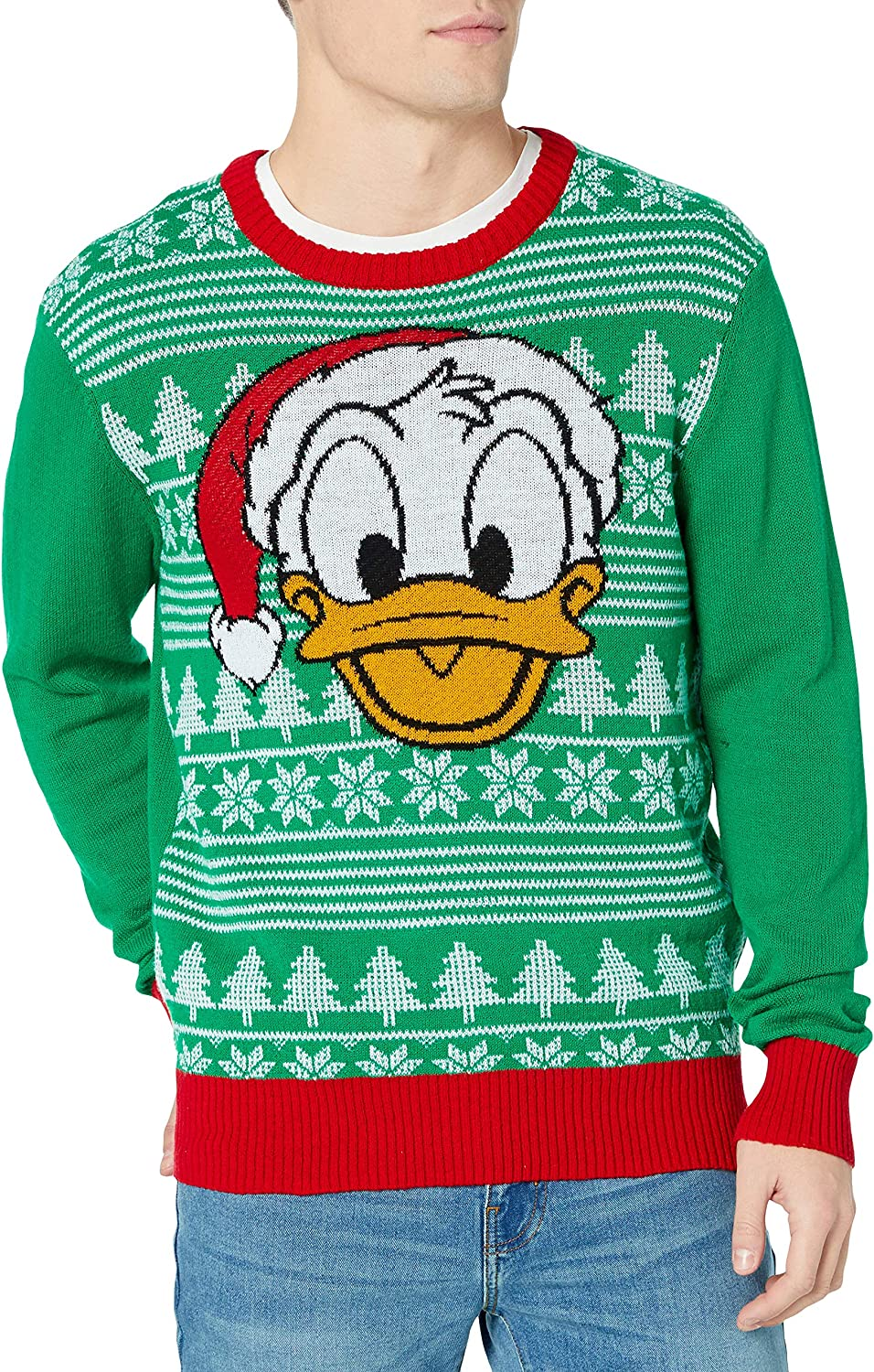 Clothing, Shoes & Jewelry Pullovers Disney Mens Ugly