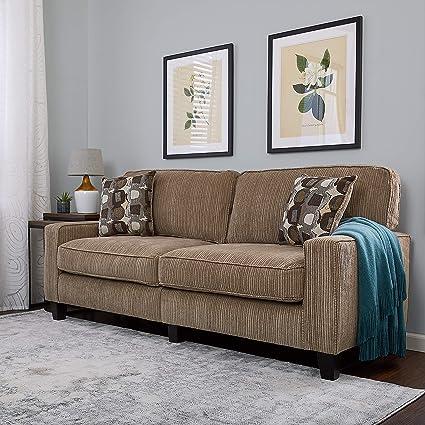 Amazon Serta RTA Palisades Collection 78 Sofa In Flagstone Beige Kitchen Dining