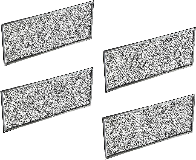 Samsung DE63-00196A Air/Grease Filter, 4 packs