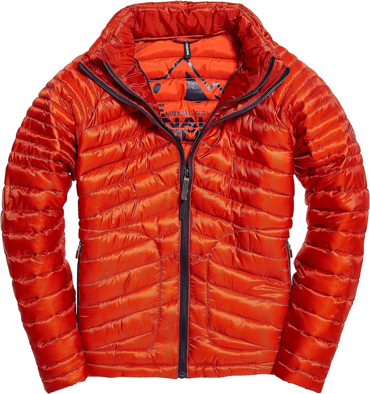 Superdry mens Men's Double Zip Jacket