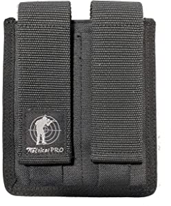 Tactical Pro Sports Dual /2 Magazine Pouch 9mm 40 & 45