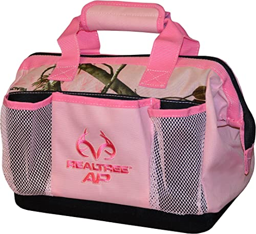 Pink Realtree AP Camouflage Tool Bag Camping Hunting Automotive 13 x 9 x 9