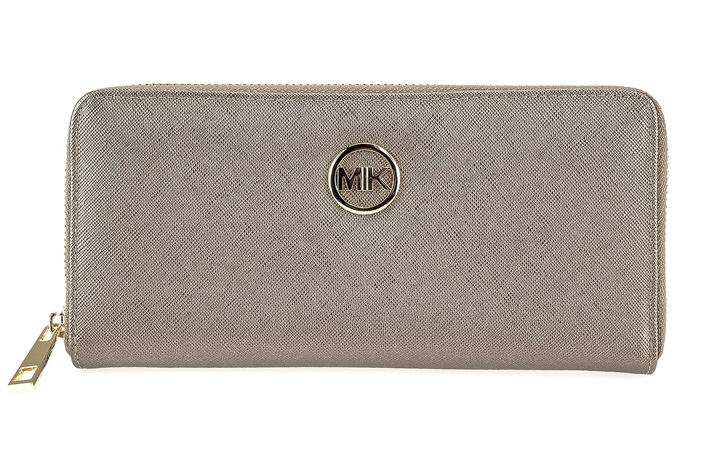MIK - Cartera para Mujer Mujer marrón Maße: 20.5cm*9.5cm*2.5cm