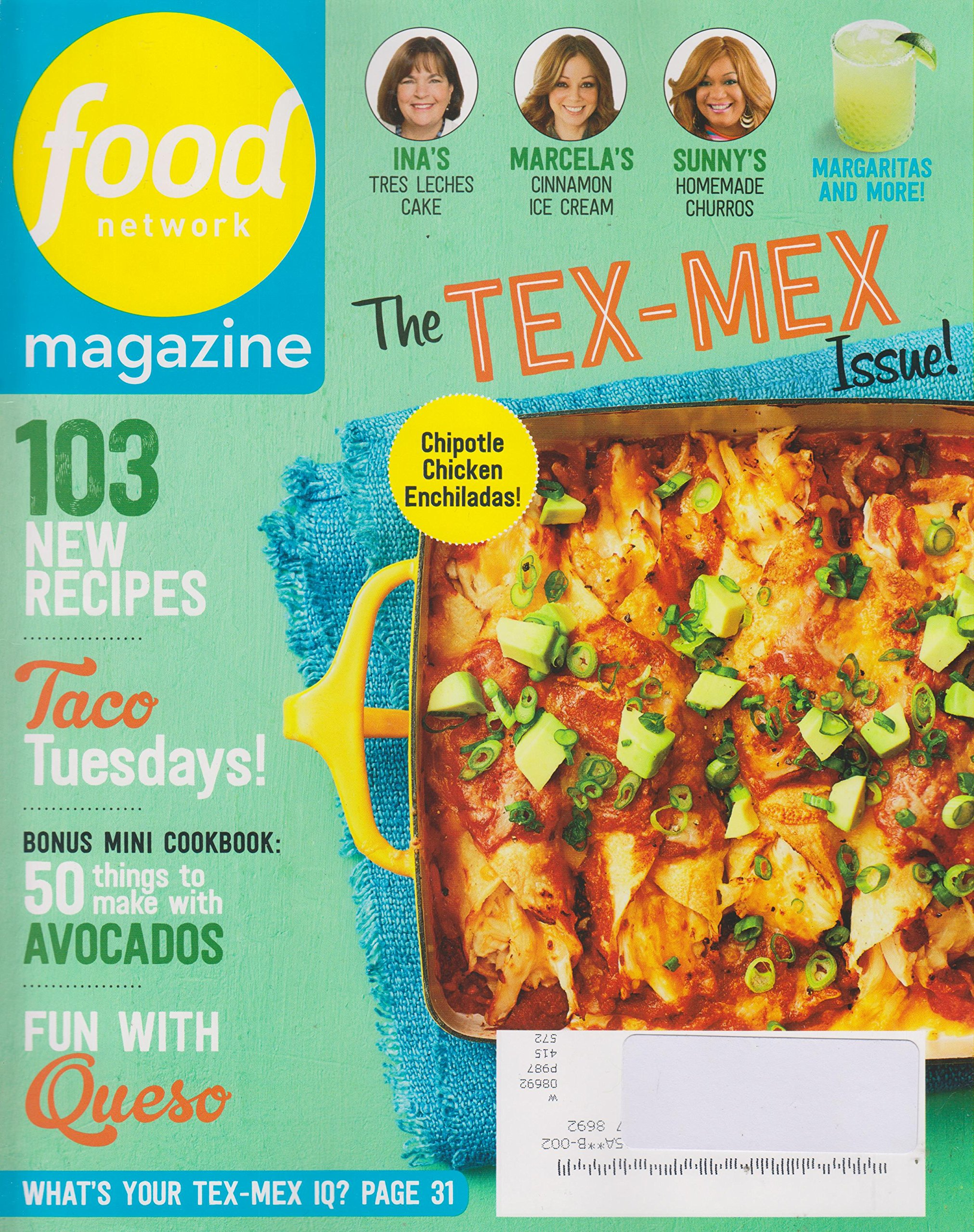 Food network may 2017 the tex mex issue 103 new recipes various food network may 2017 the tex mex issue 103 new recipes various amazon books forumfinder Choice Image
