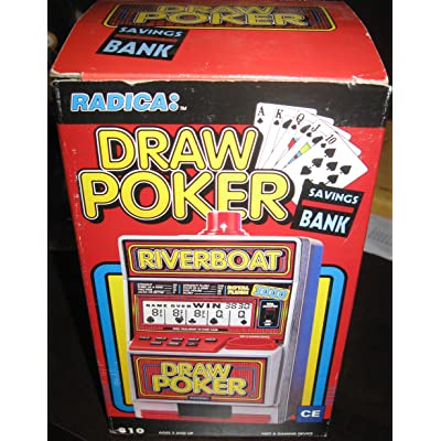 DRAW POKER - Electronic Automatic Jackpot Slot Machine: Toys & Games