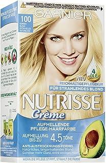 Garnier Nutrisse Creme Coloration Goldblond 73 Farbung Fur Haare