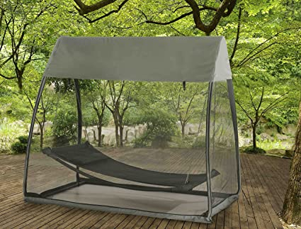Sunjoy Tented Hammock Made of Steel and