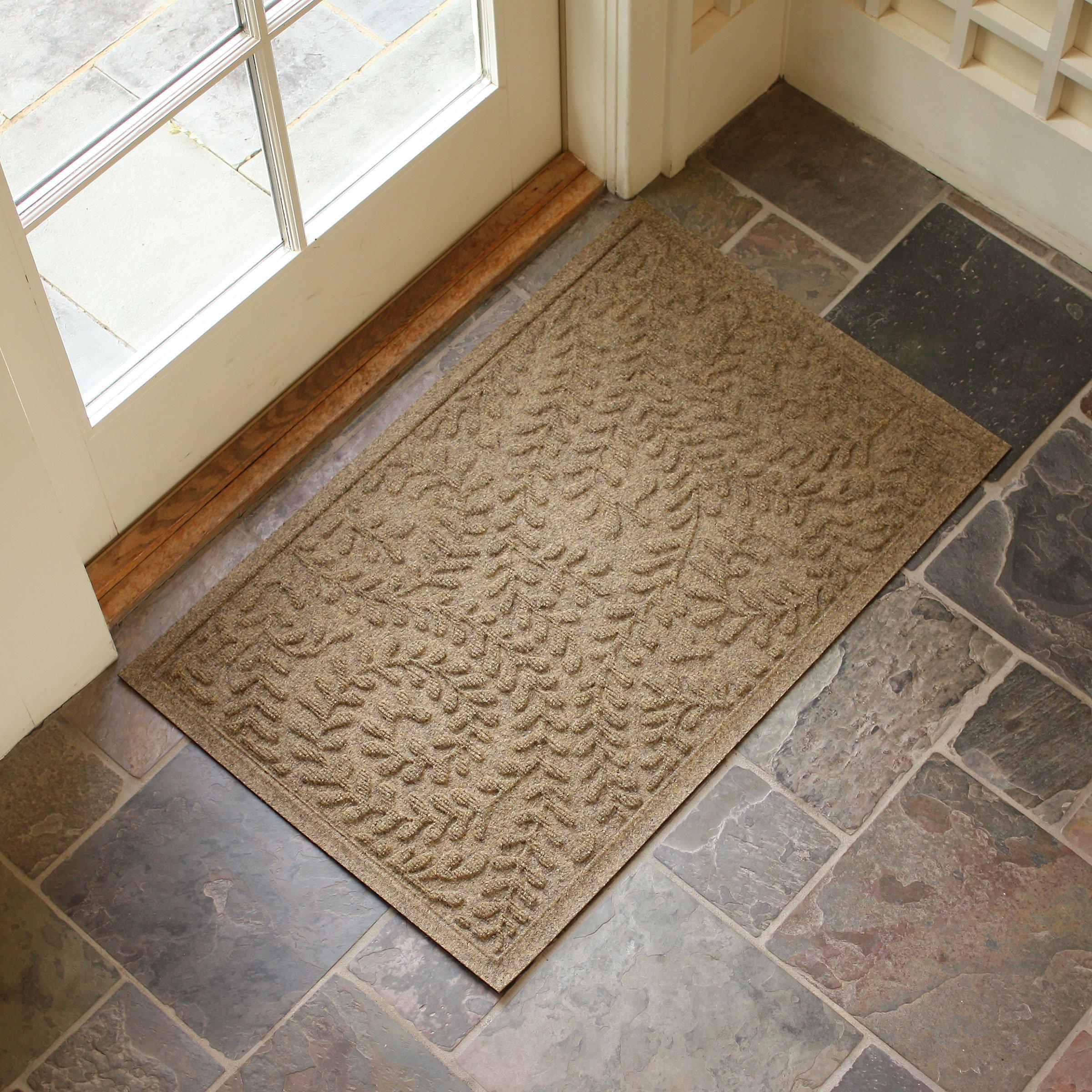 Bungalow Flooring Waterhog Standard Doormat Boxwood