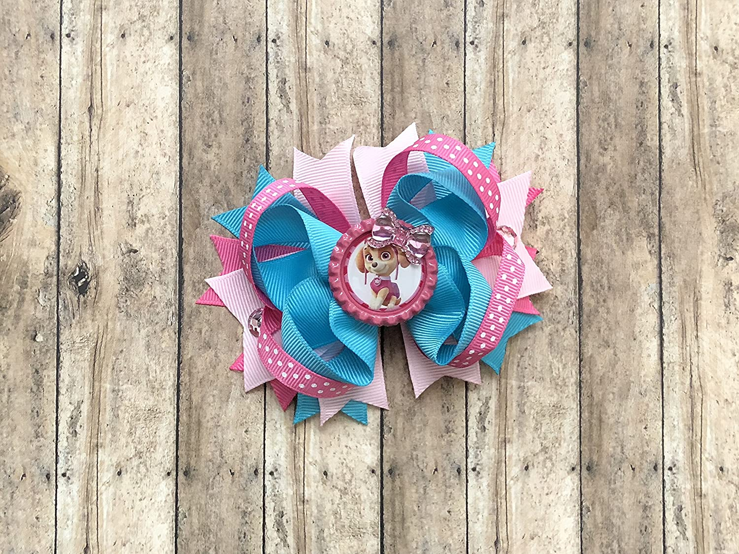 Paw Patrol Skye Inspired Bow by Inspired Bows