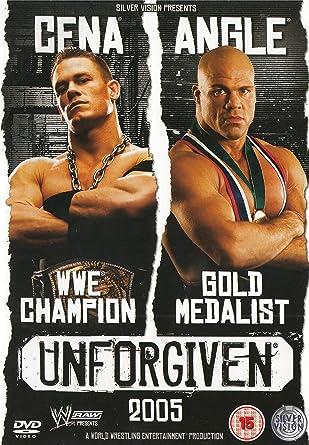 Wwe Unforgiven 2005 Dvd Amazoncouk Wwe Dvd Blu Ray