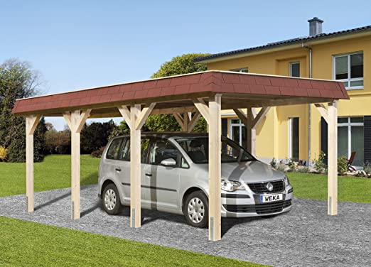 Weka Cola para Madera de tejado Plano de único CarPort Talla 1: Amazon.es: Jardín