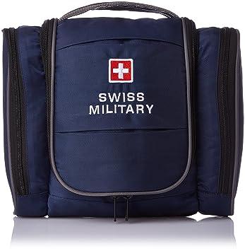 Swiss Military Blue Toiletry Bag (TB-3)  Amazon.in  Bags e2e9a42b9edf5