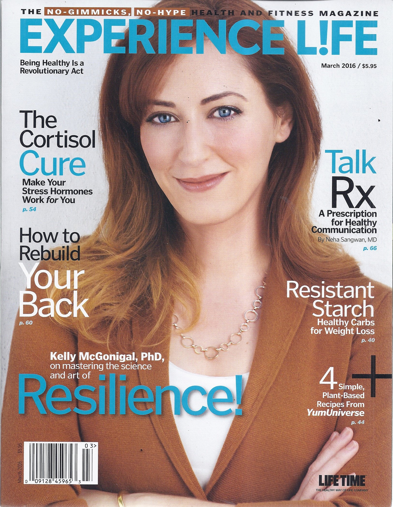 Read Online Experience Life Magazine (March 2016 - Cover: Kelly McGonigal, PhD) ebook
