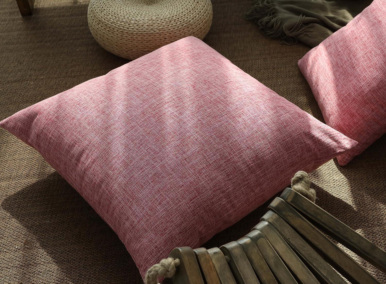 Amazon.com: Funda de almohada de lino de imitación ...