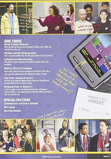 Amazon.com: Community: Season 3: Joel McHale: Movies & TV