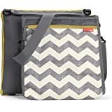 Skip Hop Baby Central Park Outdoor Blanket and Coolor Bag, Chevron, Multi