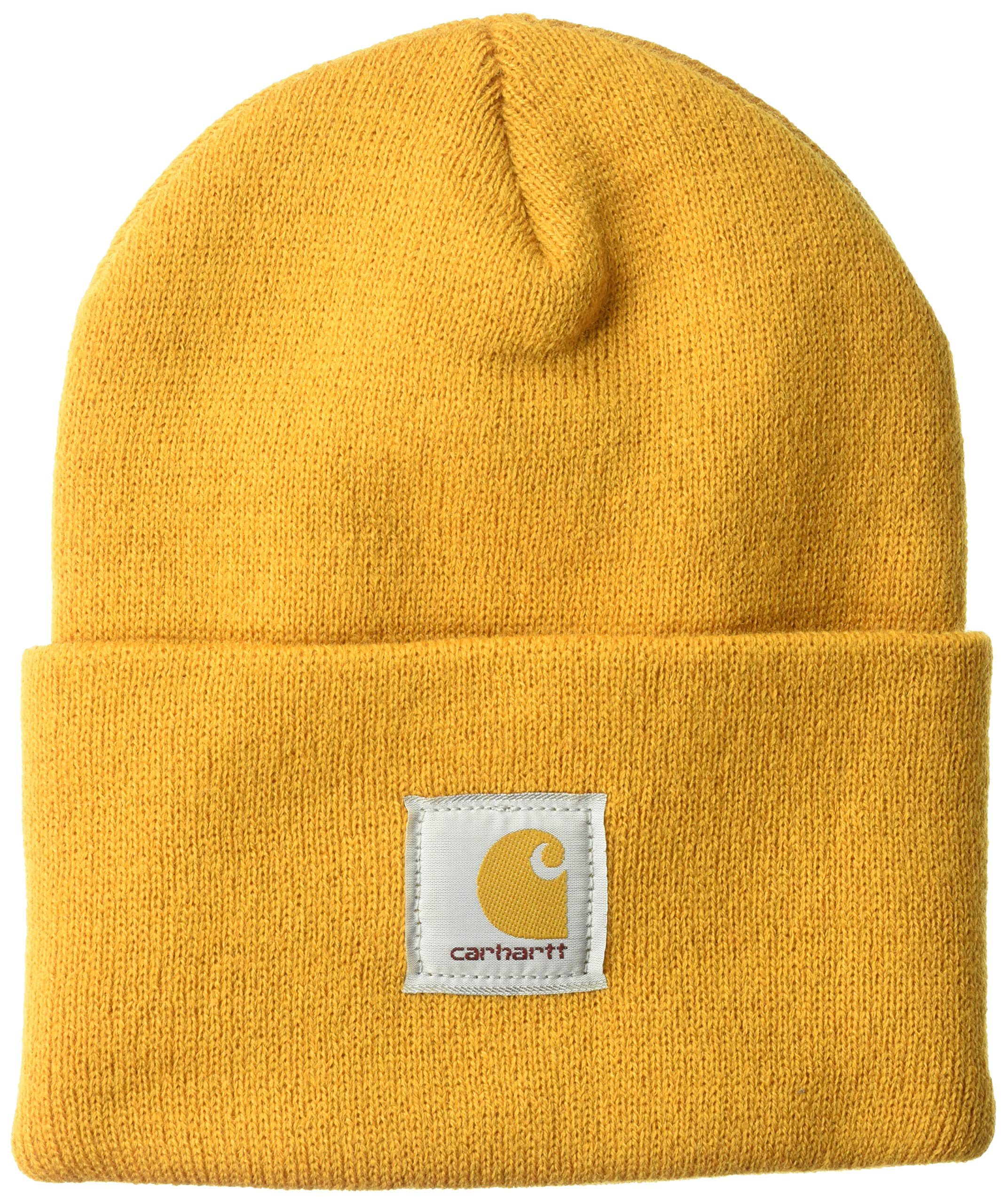 Carhartt Men's Acrylic Watch Hat A18, Gold, One Size by Carhartt
