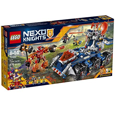 LEGO Nexo Knights 70322 Axl's Tower Carrier Building Kit (670 Piece): Toys & Games