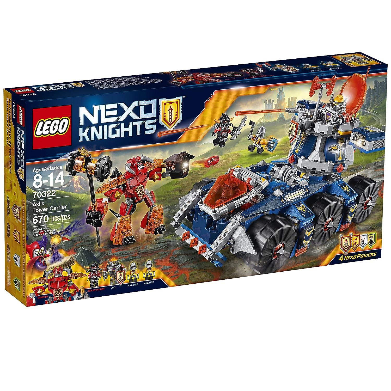 LEGO Nexo Nexo Nexo Knights 70322 Axl's Tower Carrier Building Kit (670 Piece) by LEGO ec8e09