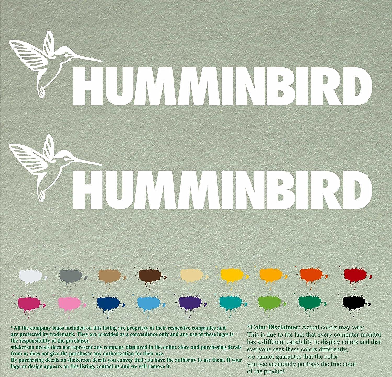 Boat /& Truck Vinyl Decal Multiple Sizes Humminbird Decal Logo
