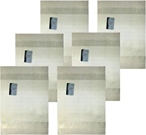 Set of 6 Black Duck Brand White 13