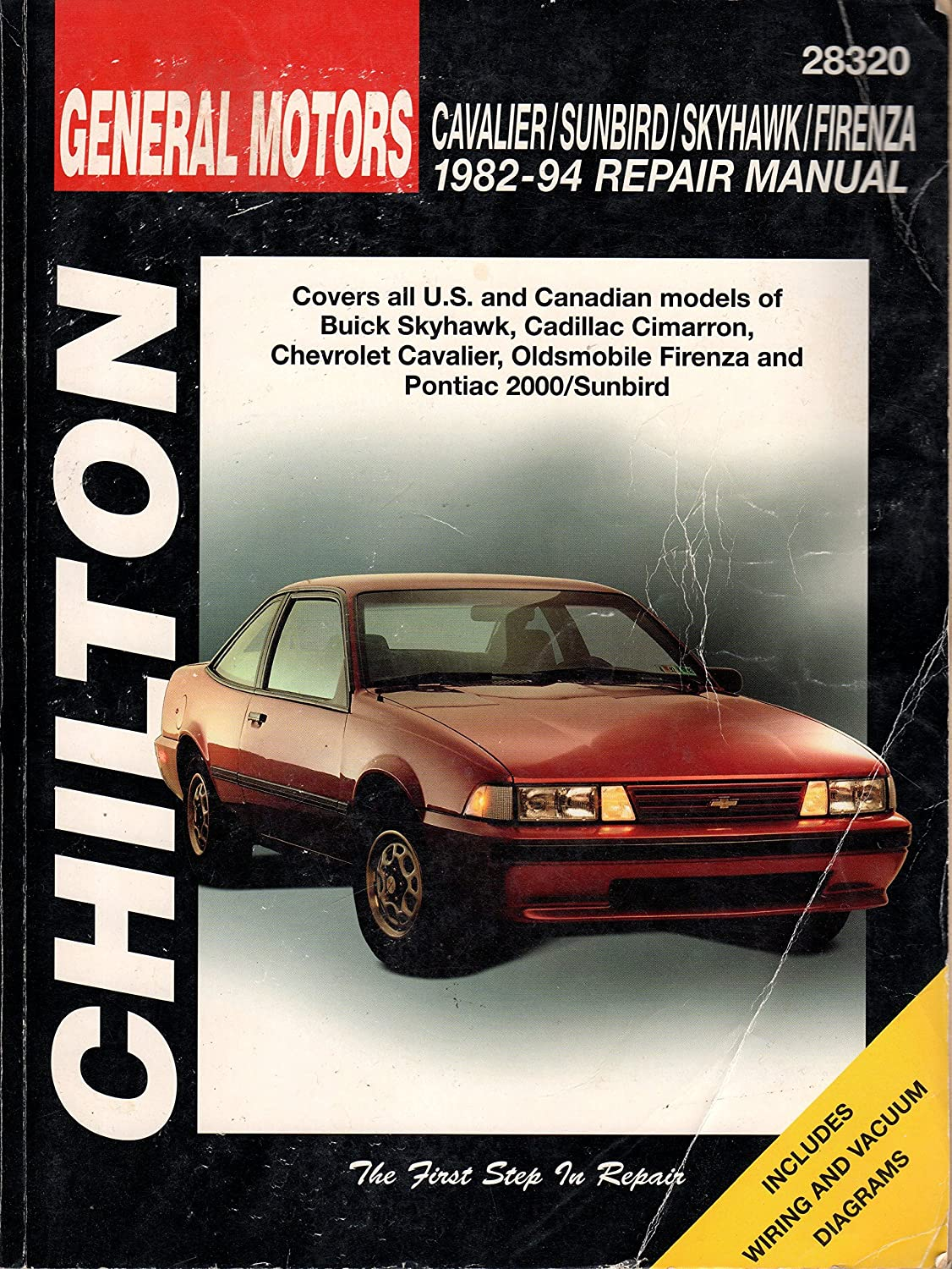 Amazon.com: Chilton CHI28320 TCC GM Cavalier/Sunbird/Skyhawk/Firenza 82-94:  Sports & Outdoors