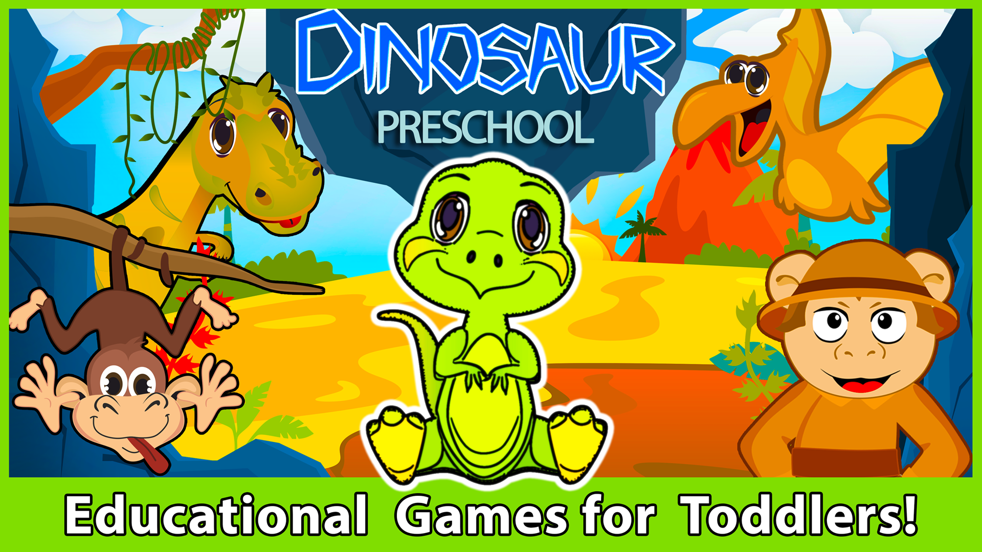 Dinosaur Games for Kids Free - Preschool Dino Adventure ...