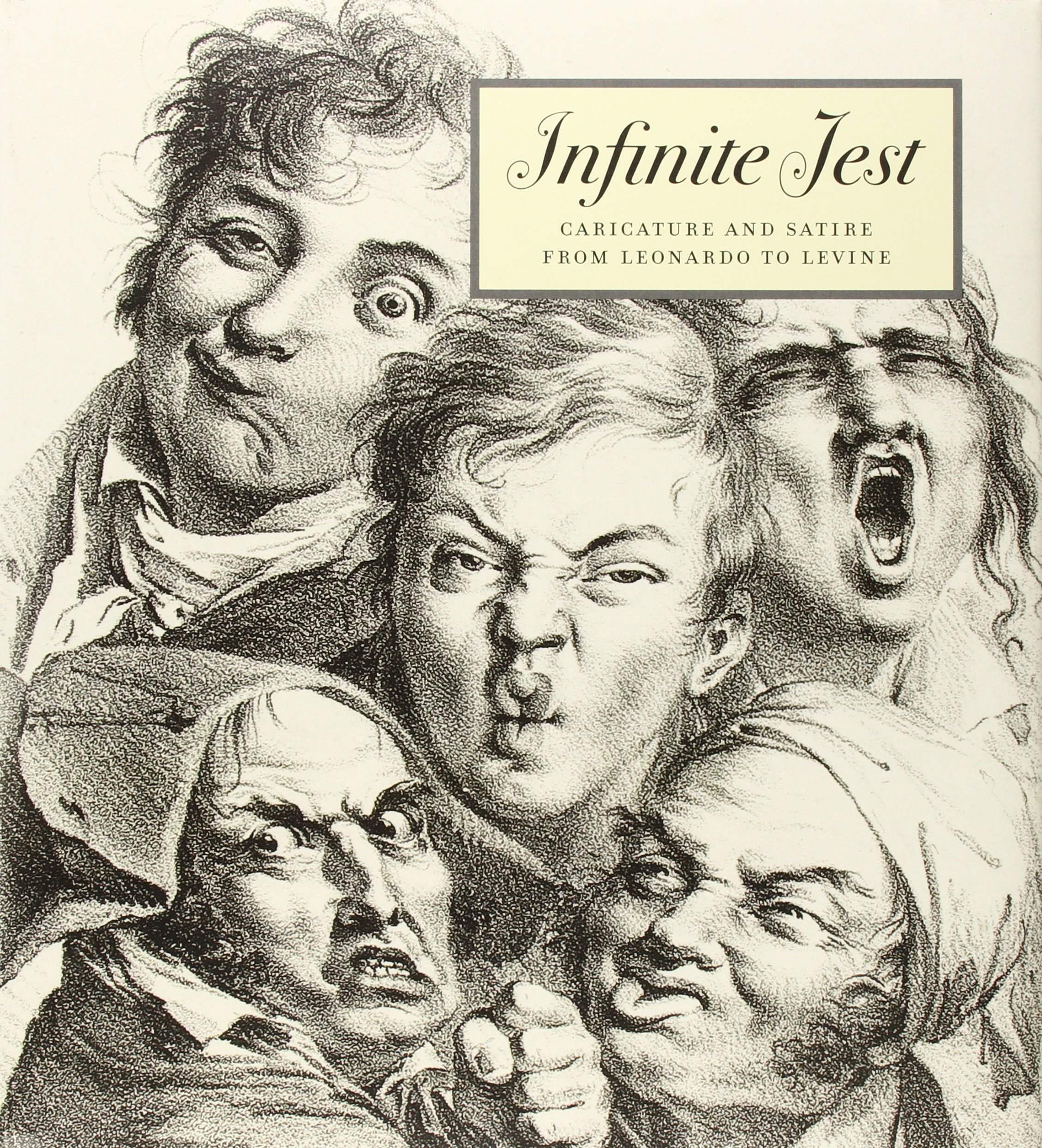 Infinite Jest: Caricature and Satire from Leonardo to Levine (Metropolitan  Museum of Art): Constance C. McPhee, Nadine M. Orenstein: 9780300175813: ...