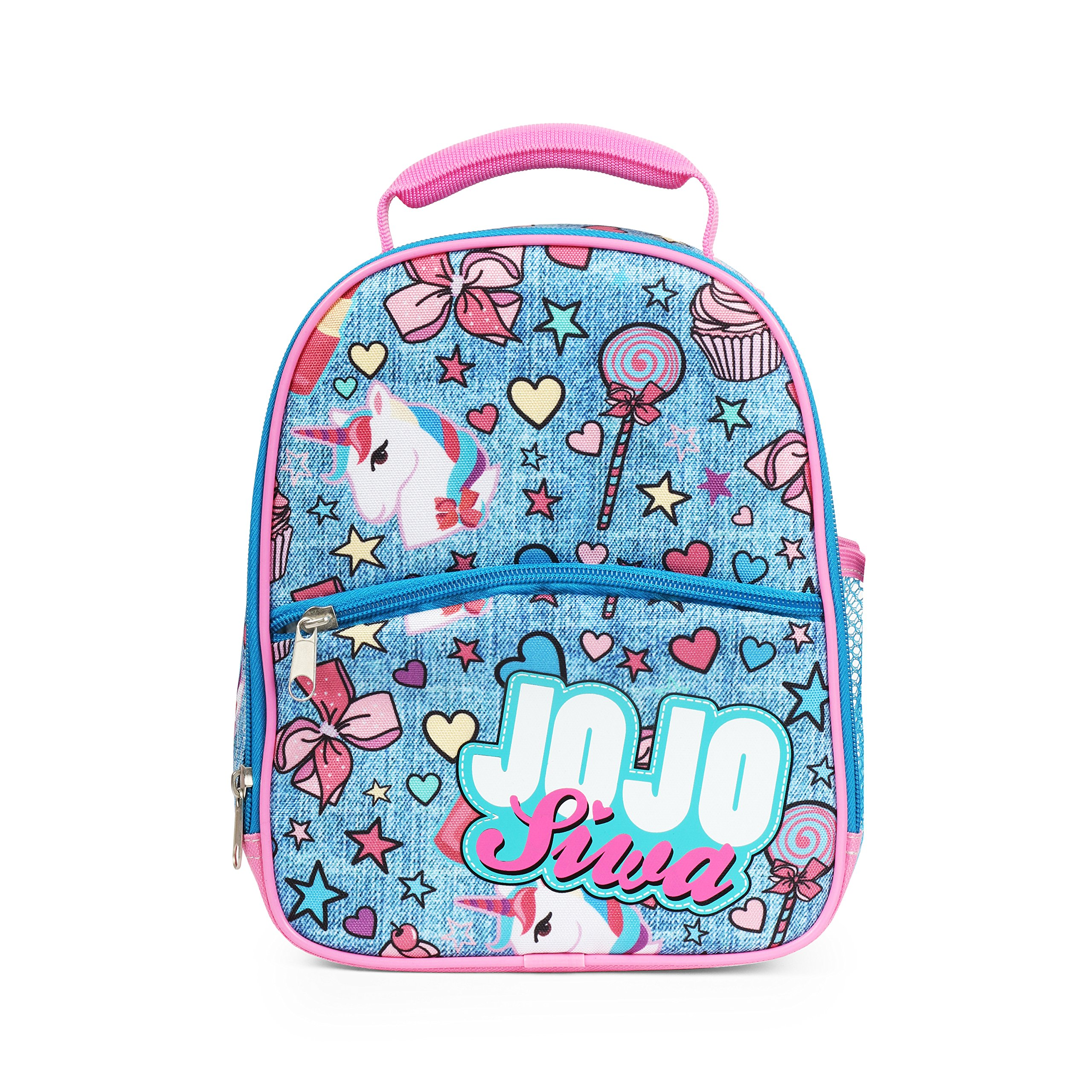 JoJo Siwa Denim Insulated Lunch Bag