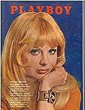 September 1968 Playboy Magazine -- Vintage 60s Playboy Collectible