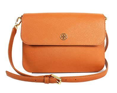 897fd8e8e65e Image Unavailable. Image not available for. Color  Tory Burch Robinson  Crossbody Bag Style NO. 36880 Luggage