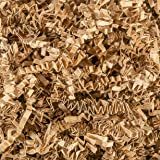 Crinkle Cut Paper Shred Filler (2 LB) for Gift Wrapping & Basket Filling - Kraft | MagicWater Supply