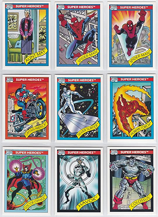 U-Pick Your Needs Details about  /1990 Marvel UNIVERSE SERIES 1 BASE Card  Singles