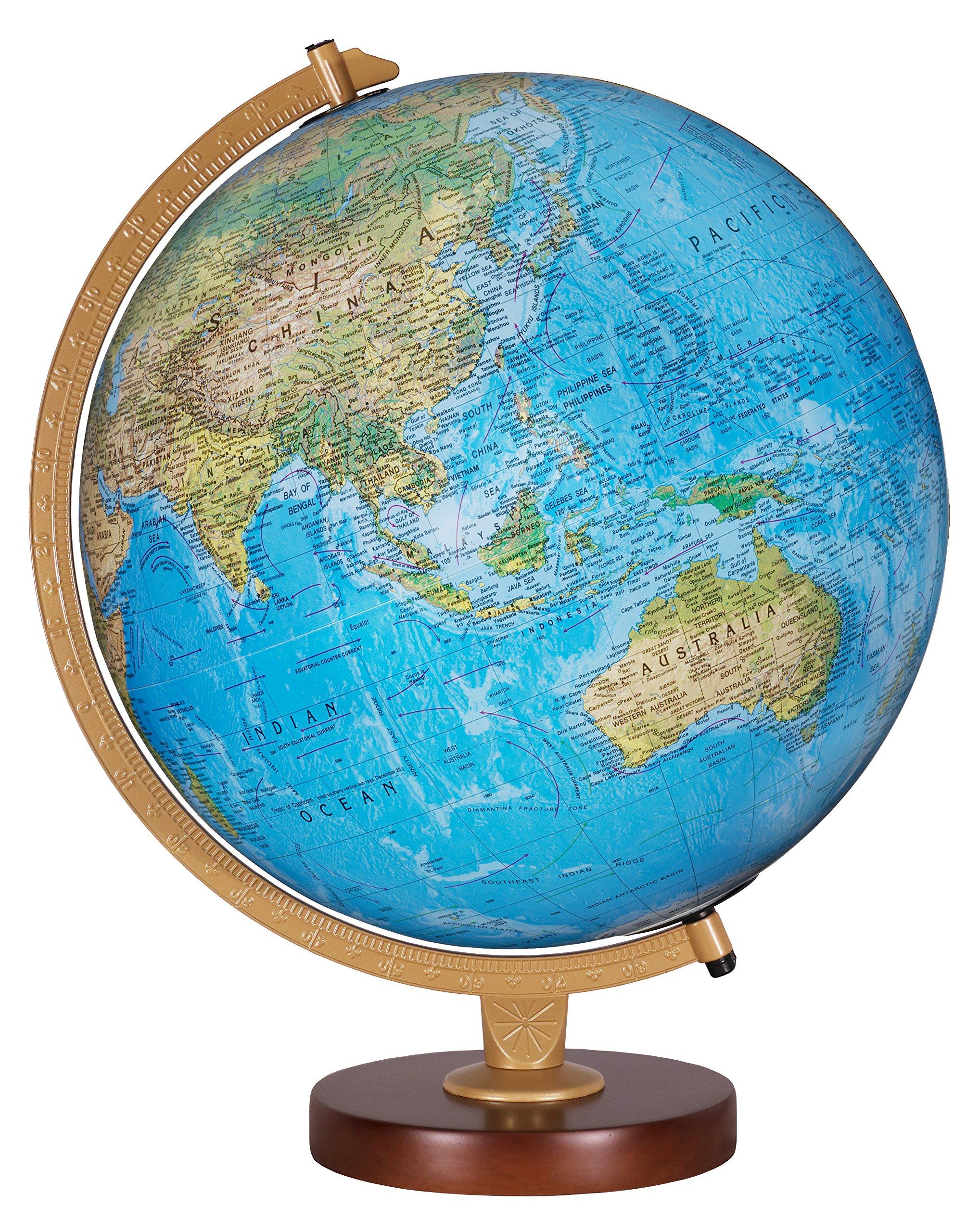 Replogle Globes Livingston Globe, 12-Inch, Blue Illume by Replogle