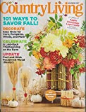 Country Living November 2017 101 Ways to Savor Fall