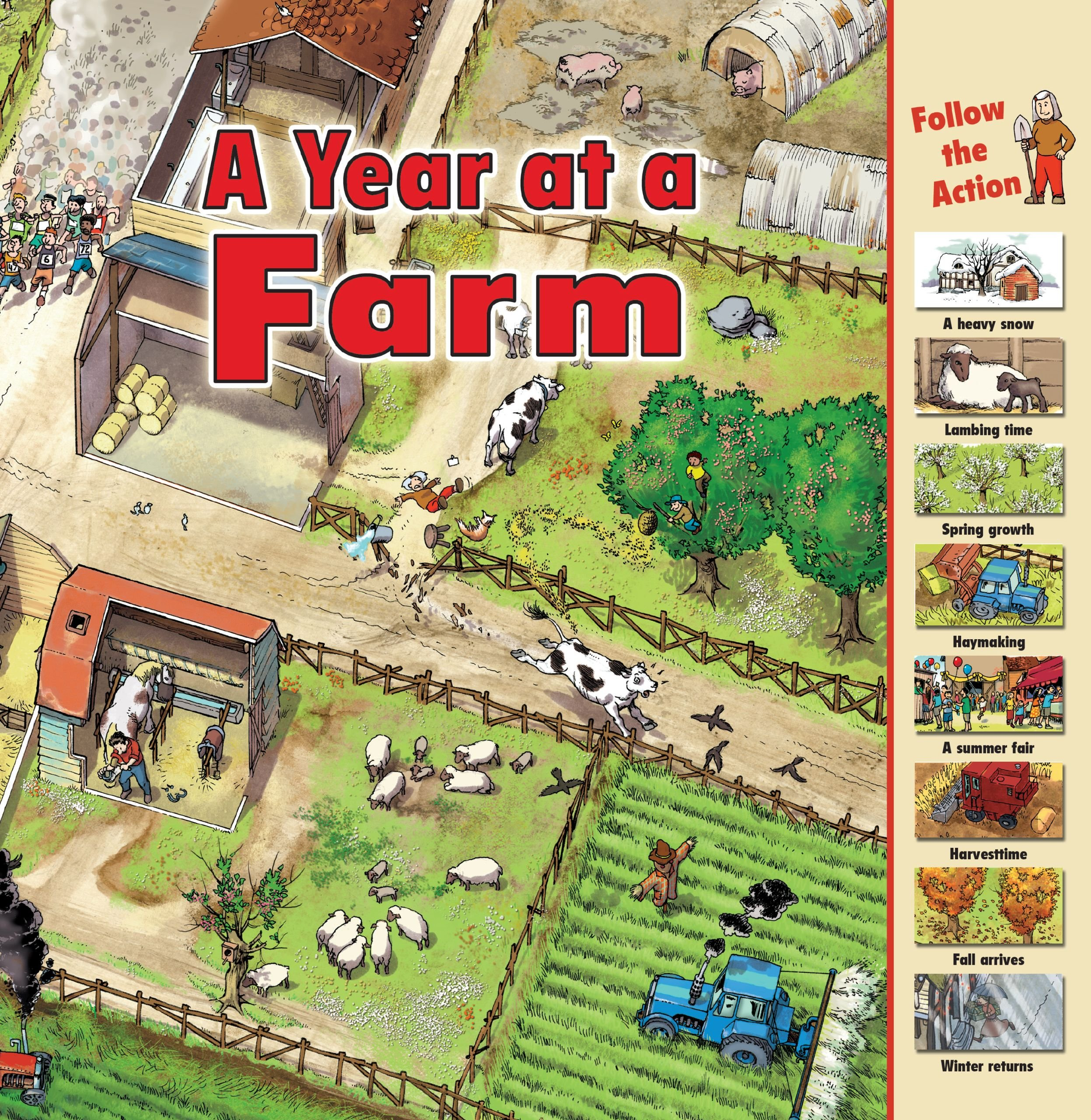 A Year at a Farm (Time Goes By): Harris, Nicholas: 9781580137980:  Amazon.com: Books