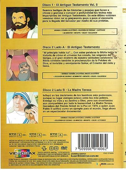Amazoncom Tres Peliculas El Antiguo Testamento Vol 5 Coleccion