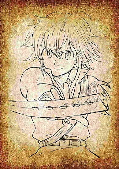 Seven deadly sins wanted poster hd