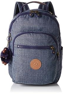 Kipling Seoul Go S Mochila infantil, 35 cm, 8 litros, Azul (Craft