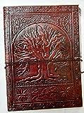 Handmade Leather Journal Notebook Rechargeable Diary pour Hommes Femmes ou pour l'usage du bureau