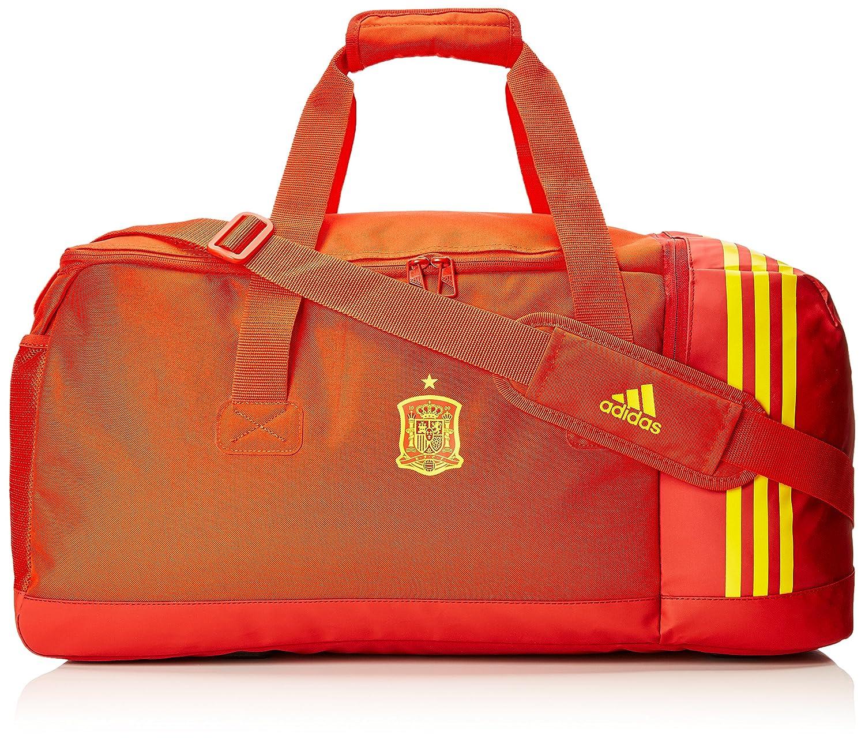 Adidas FEF Duffel Mochila, Unisex Adultos, (Rojo/Rojpot/Dorfue), 24x15x45 cm (W x H x L) CF4964